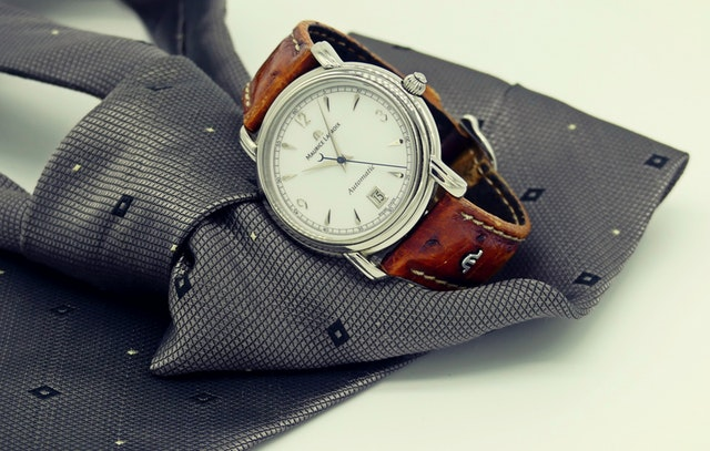 watch and necktie