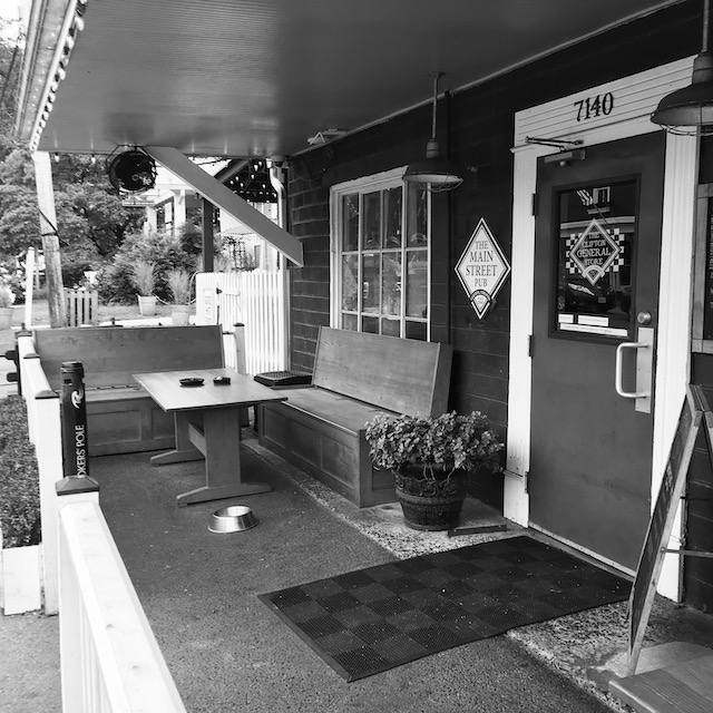 general store in small town
